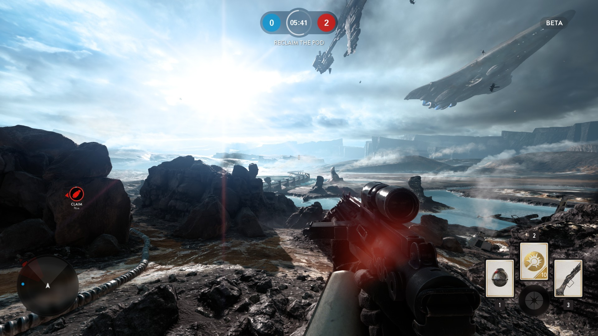 I learned to hate this map quick.  Photo: http://www.pcworld.com/article/2990073/software-games/star-wars-battlefront-beta-impressions-better-than-the-prequel-films.html