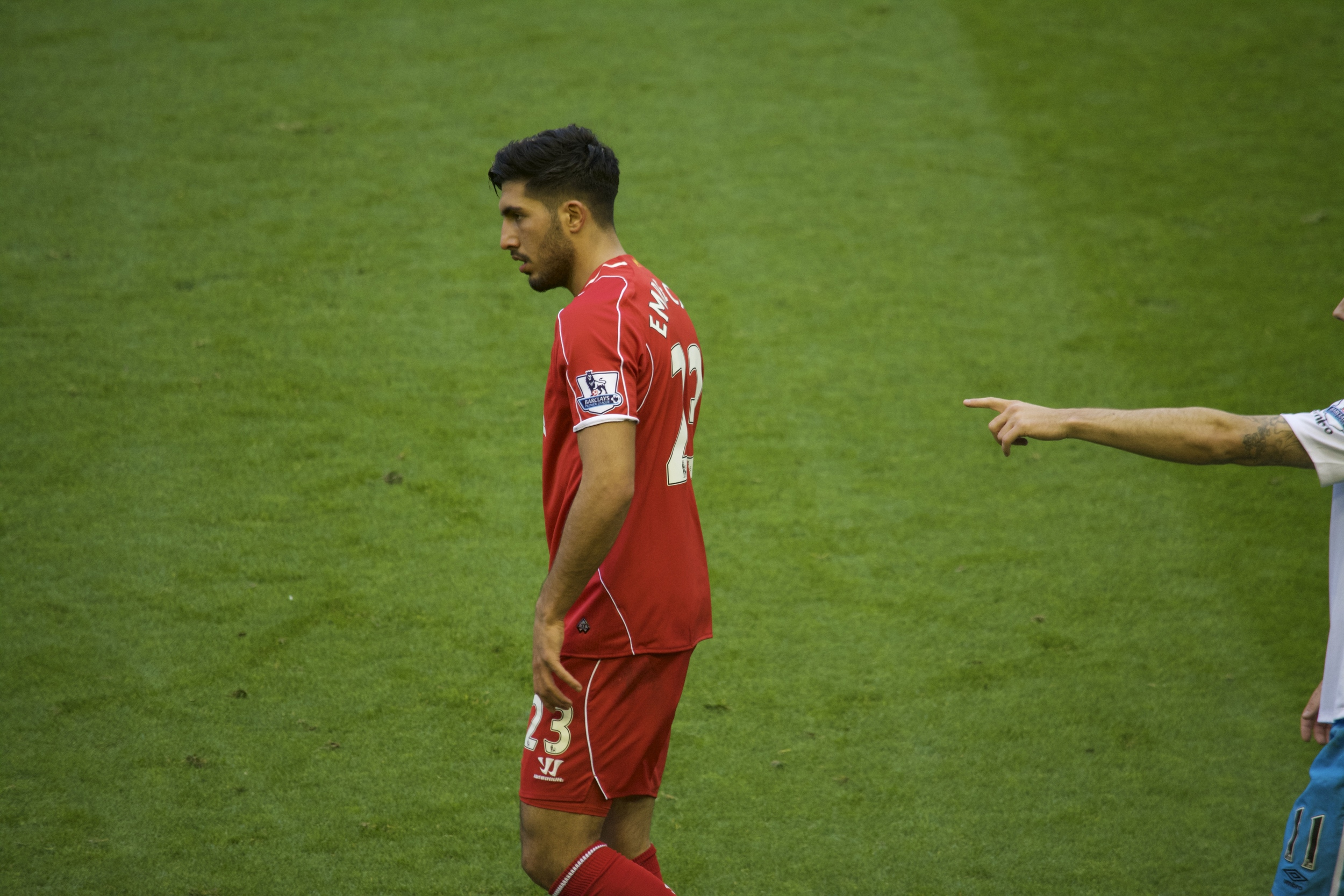 Perhaps the greatest Commons photo I could've found of Emre Can...