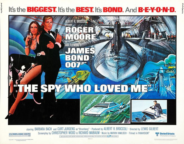 Well it is the best of the Roger Moore Bond films