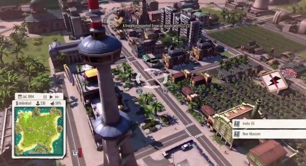 There's a lot to do...  PHOTO: http://www.gameinformer.com/games/tropico_5/b/playstation4/archive/2015/02/05/a-glimpse-of-tropico-5-gameplay-on-ps4.aspx