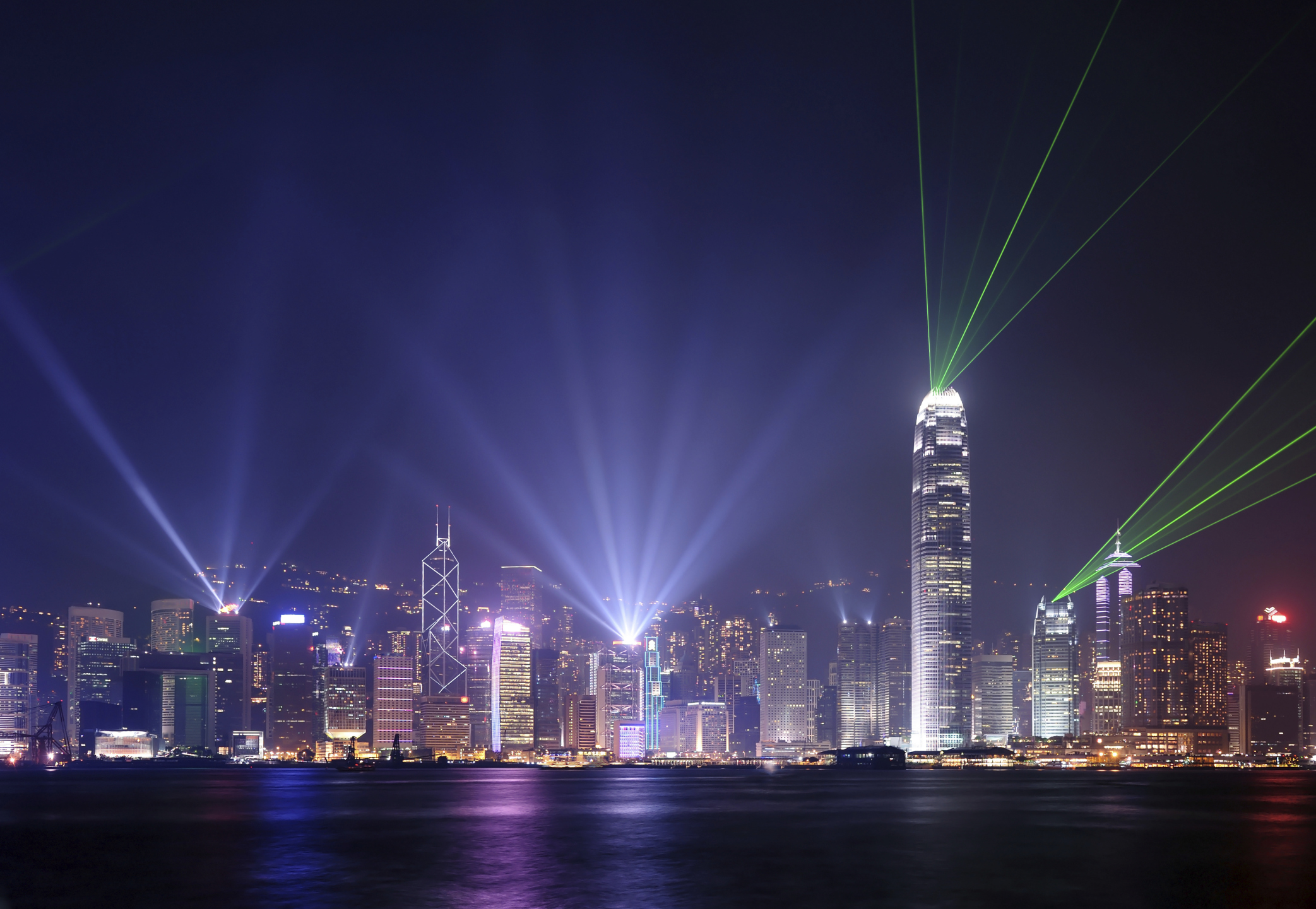 The skyline of Hong Kong. Photo by shirophoto/iStock/Getty Images