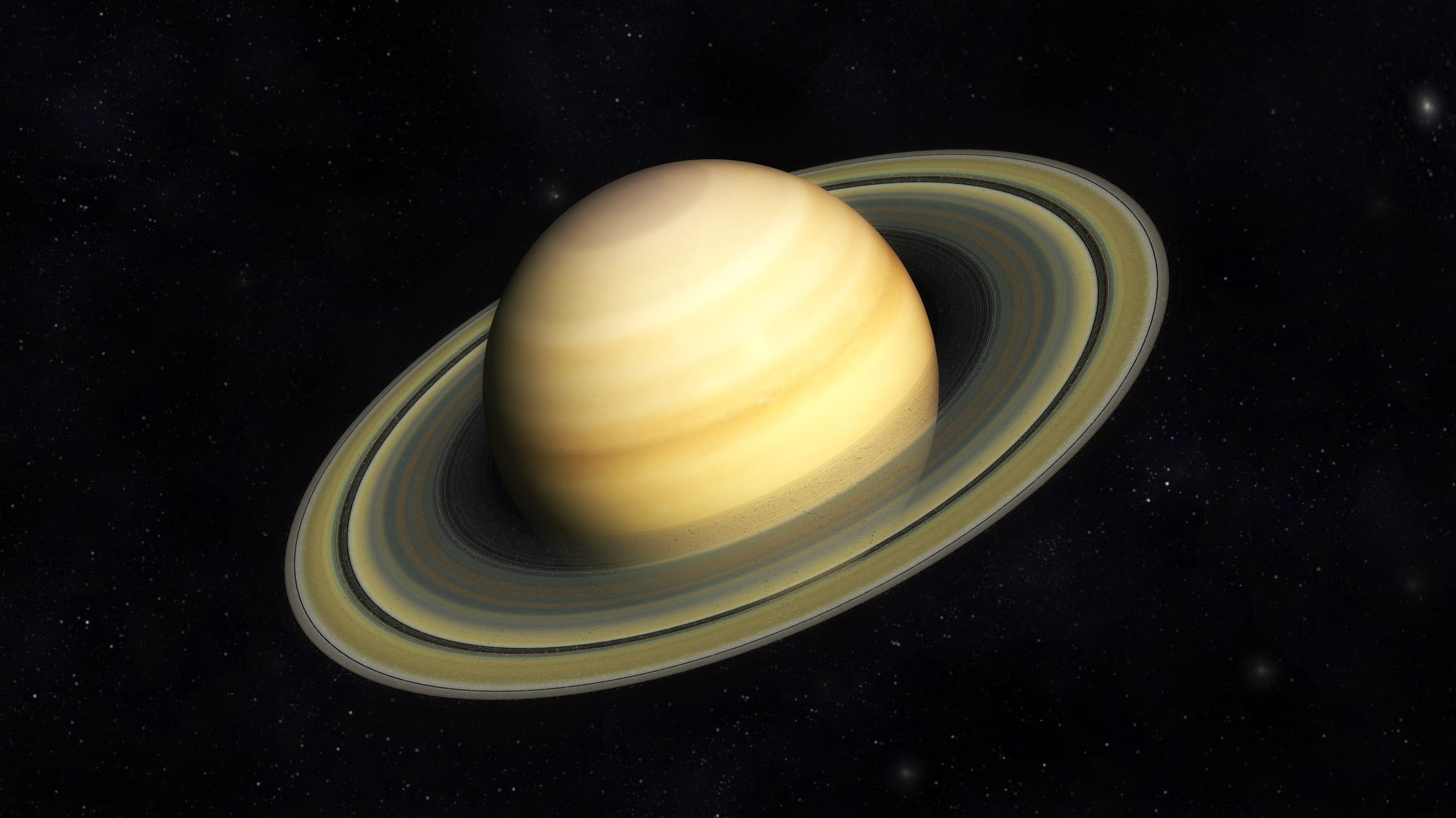 The planet Saturn. Photo by 3quarks/iStock/Getty Images.