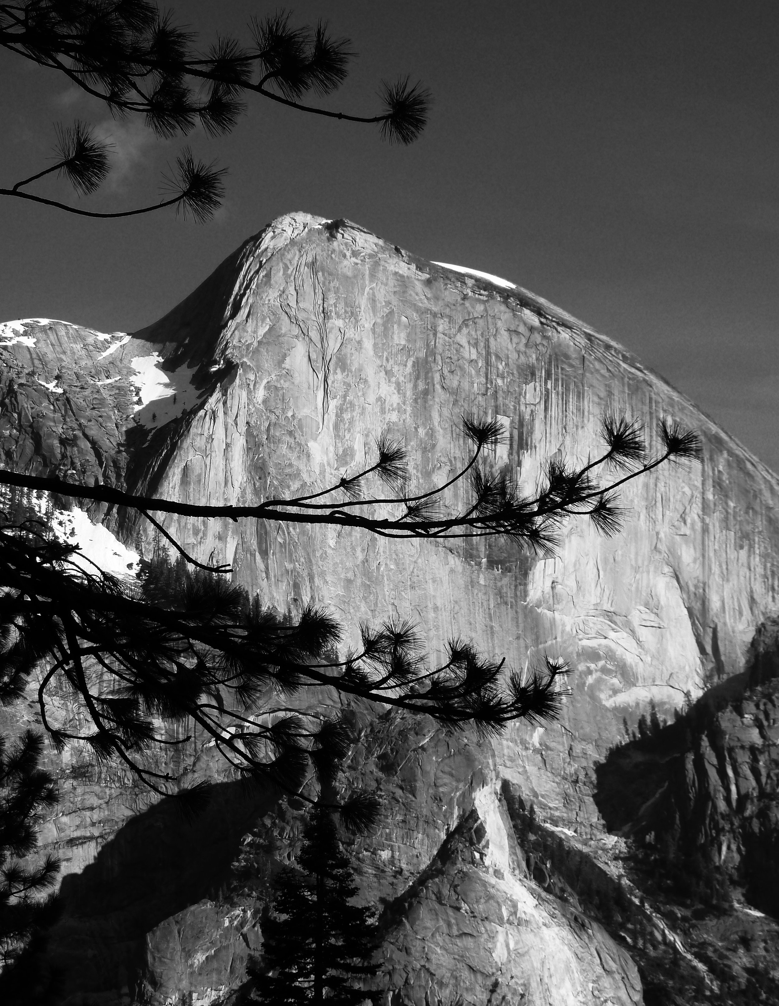 Half Dome, Yosemite National Park, viewed from Snow Creek.
