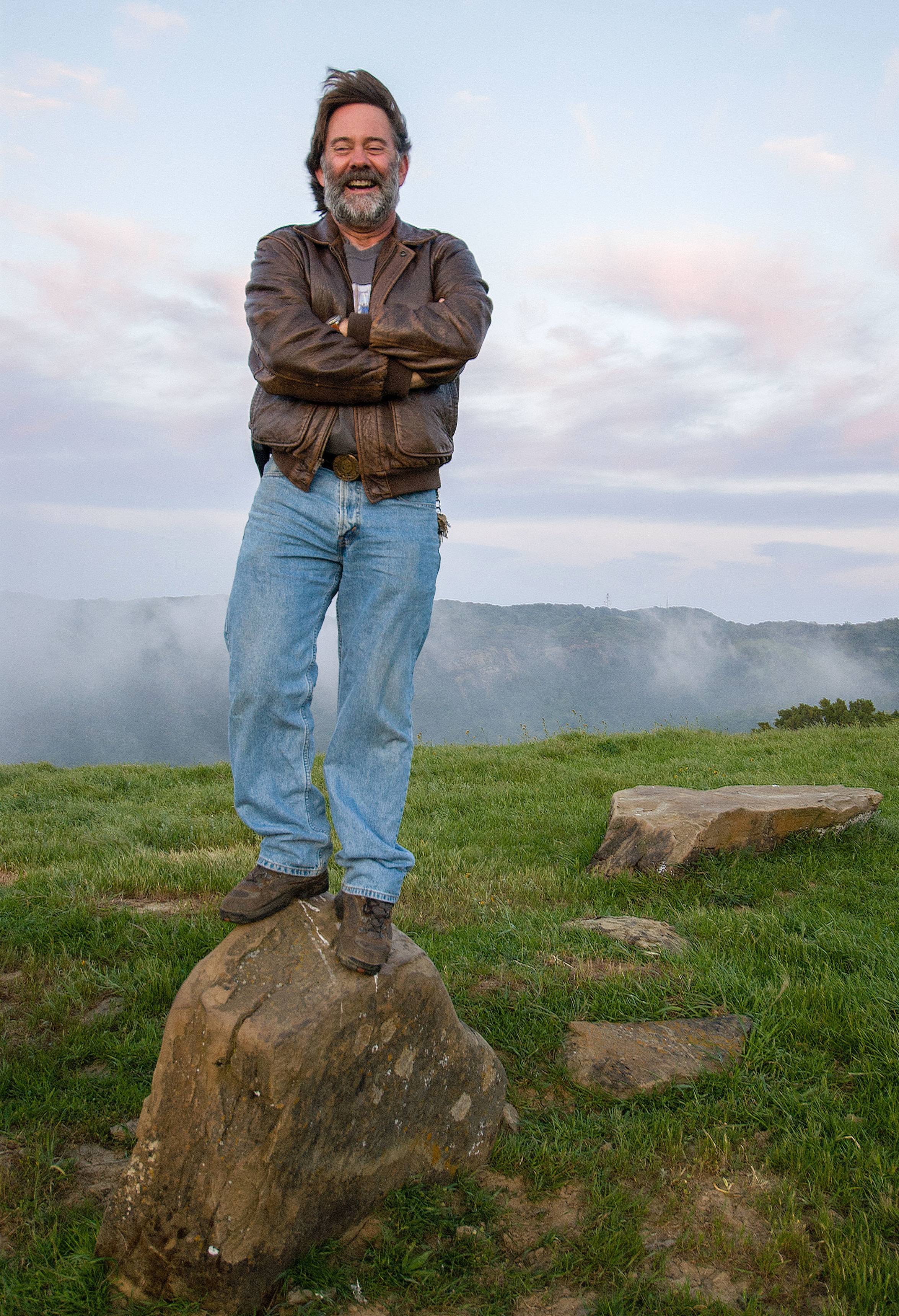 Roger Epperson in May of 2006. Photo by Scott Hein.