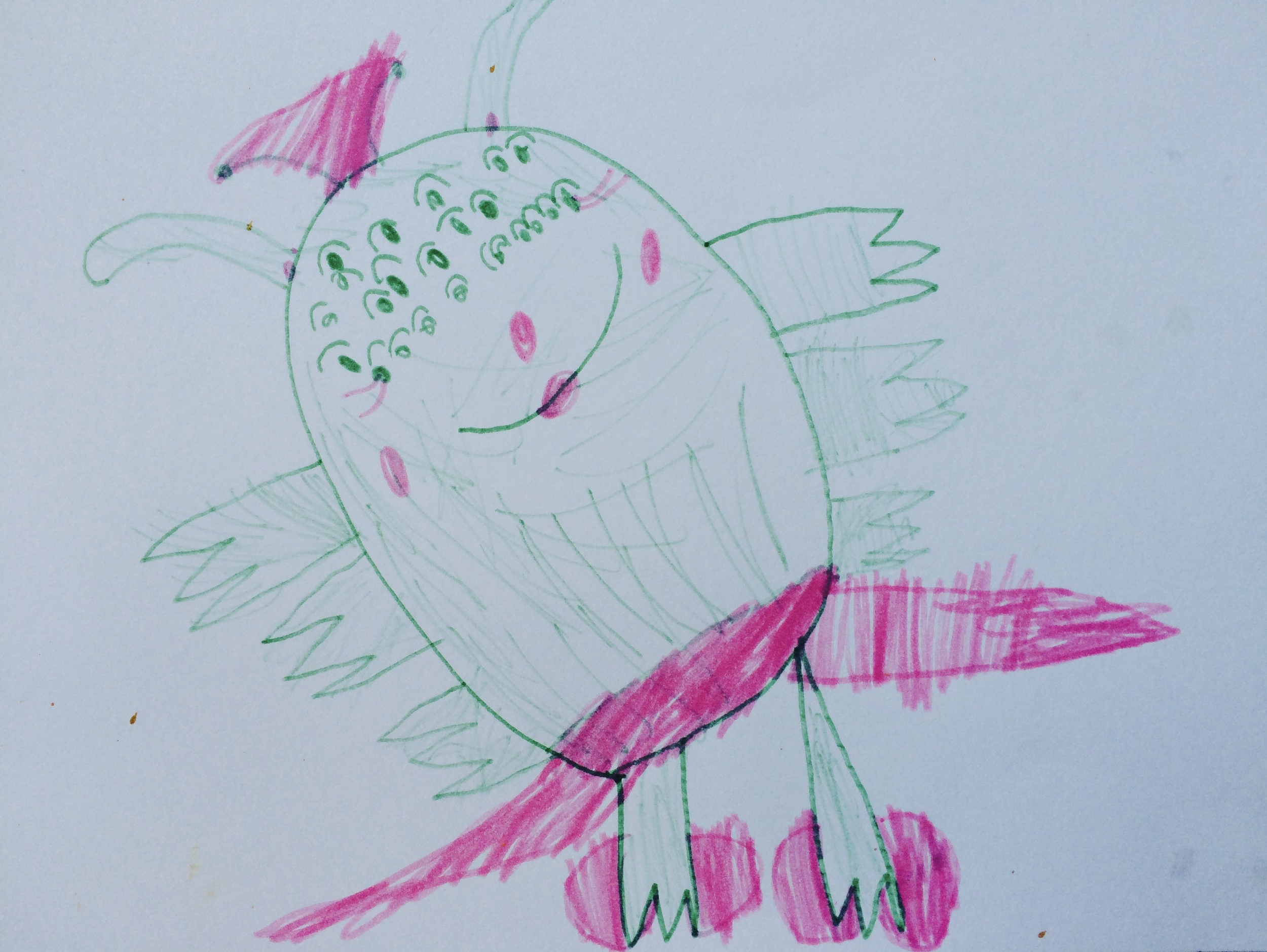 Silly monster by Stella