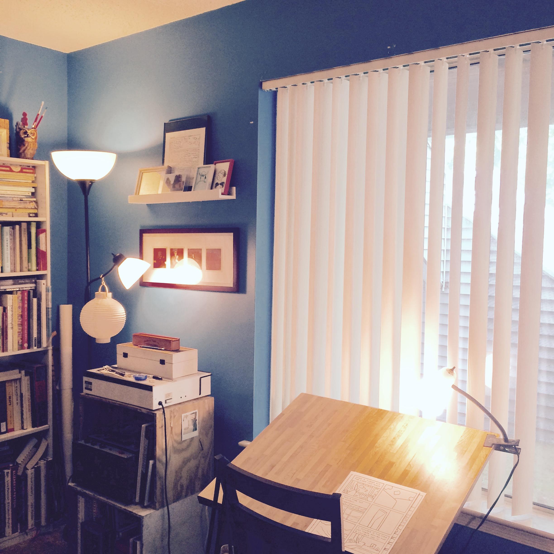 Todd Webb's studio