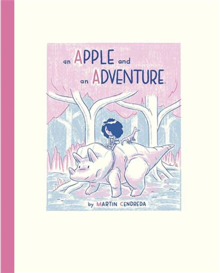 From Boom! Studios:  An Apple and An Adventure  uses rhyme and the ABCs to create an engaging world of wonder that's both educational and fun.