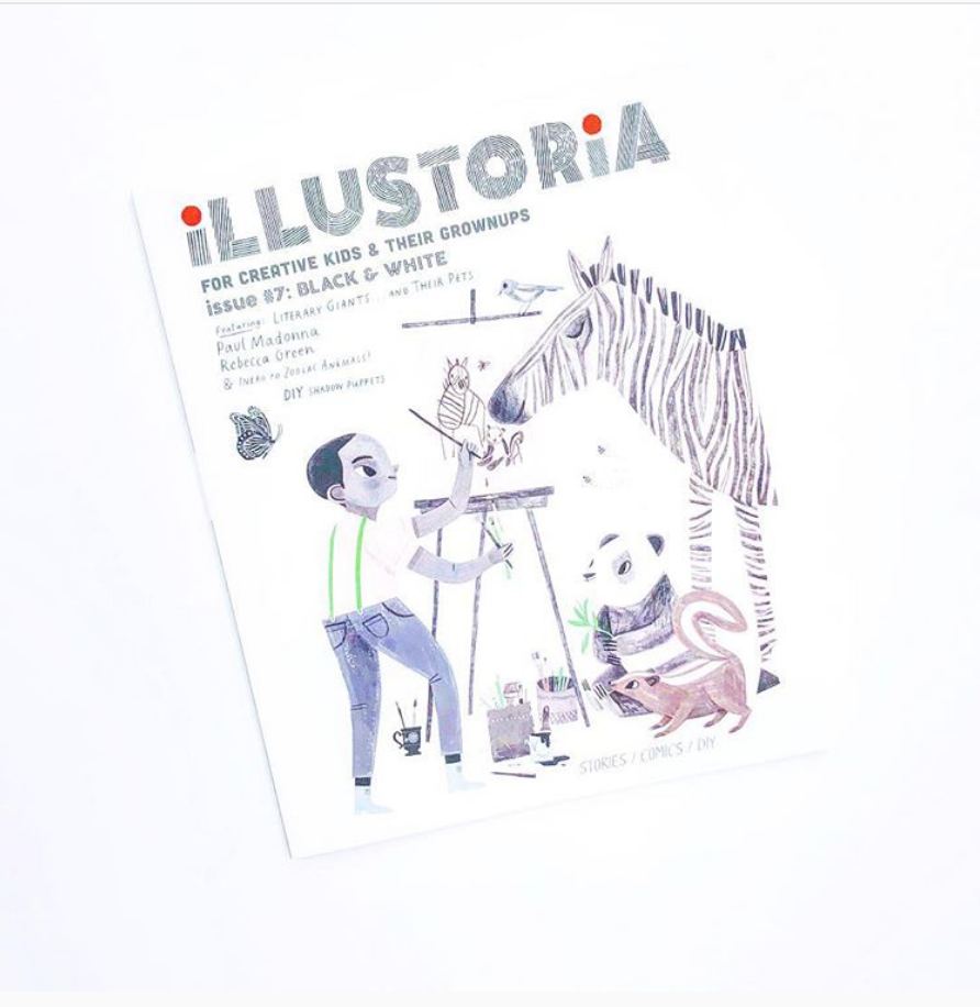 ILLUSTORIA   Issue #7: Black and White  , photo courtesy of Lauren Davis,   Happily Ever Elephants  .