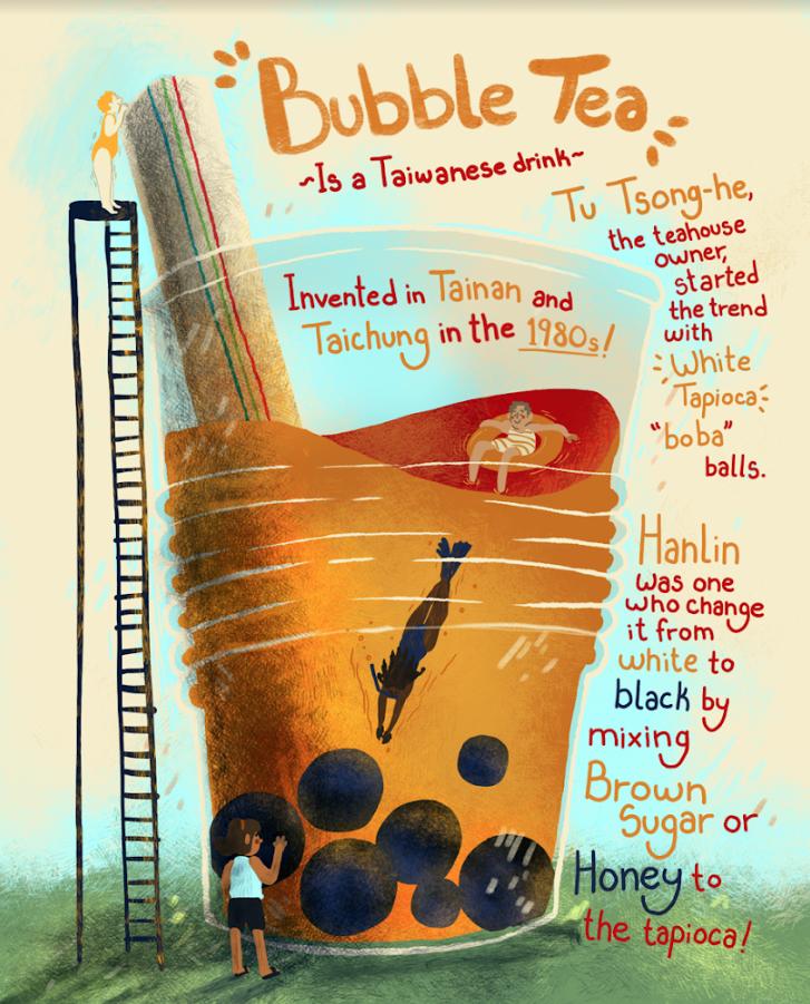 Bubble Tea, by Lacey Vonderschmidt