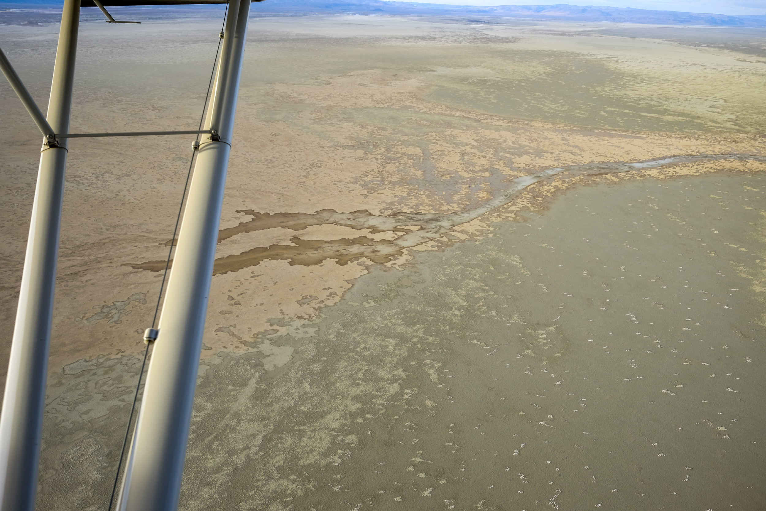 Here is some of the terrain we flew over day to day.