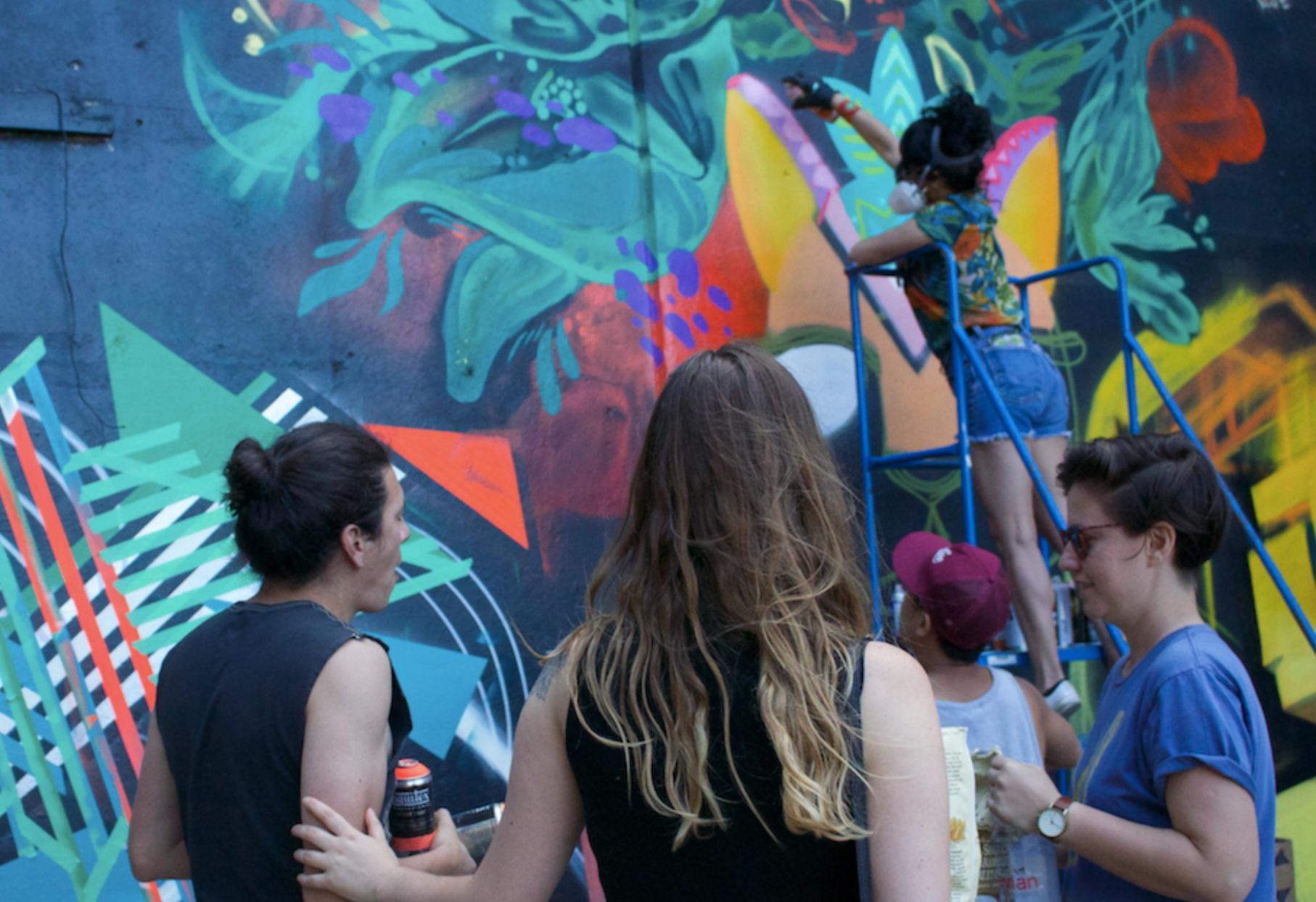 Live Community Mural