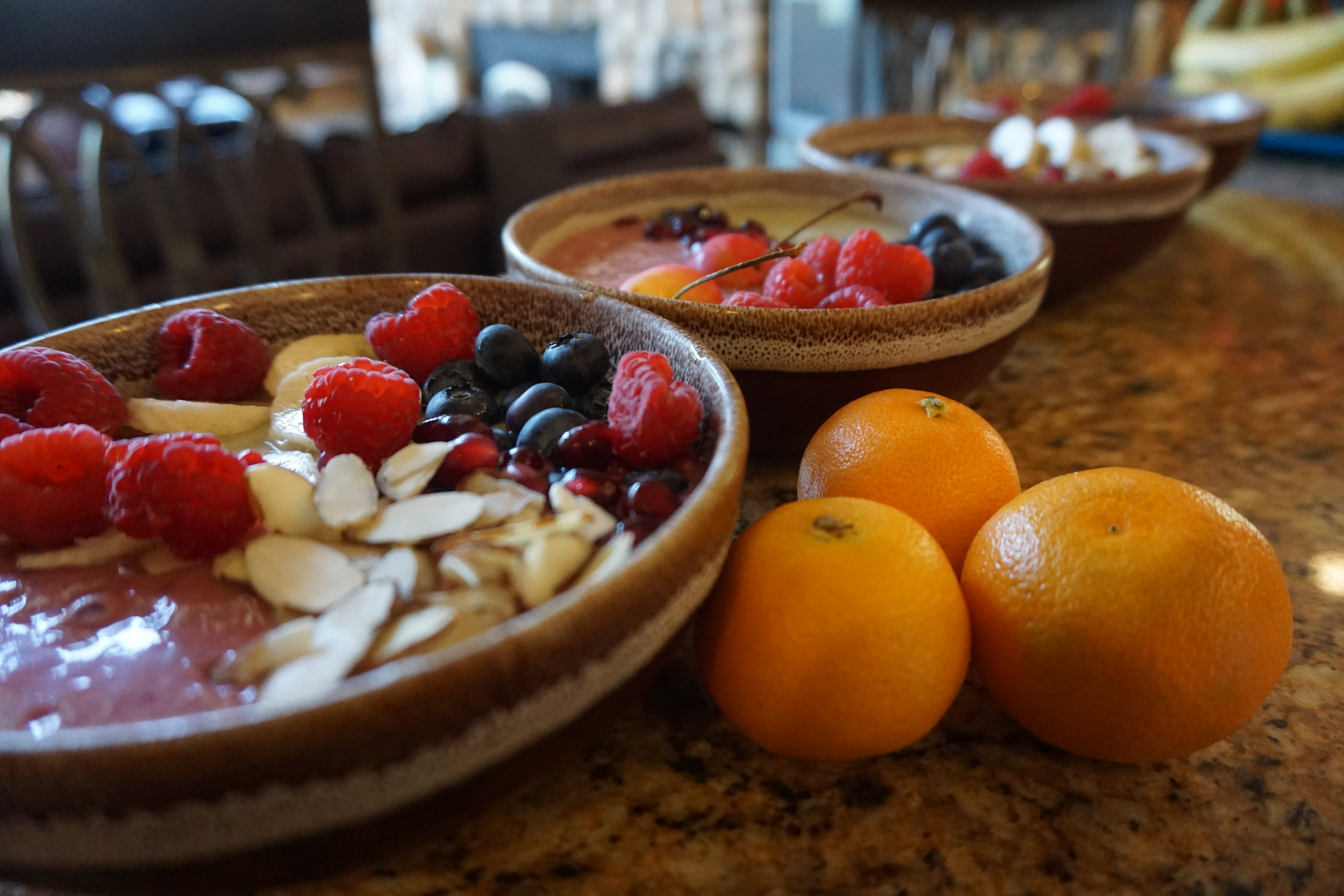 Smoothie bowls by Salud NYC #zayummm