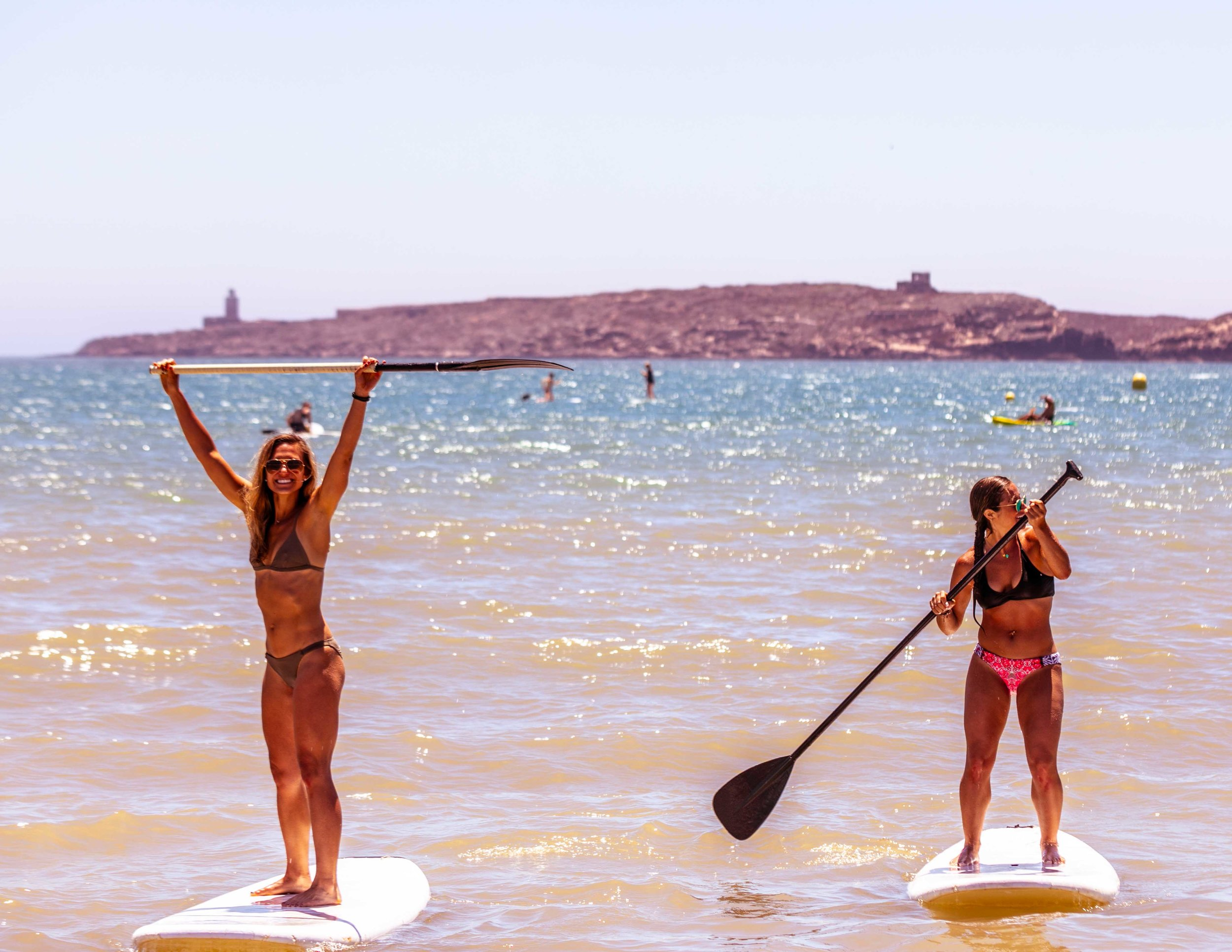 Stand Up Paddle boarding in Essaouira