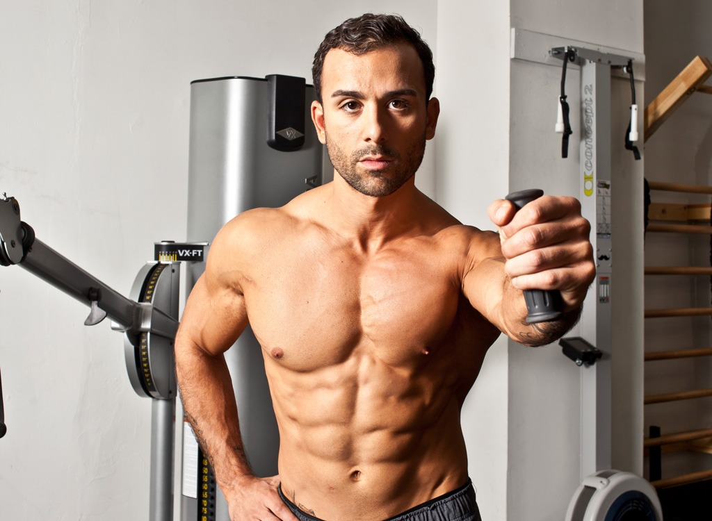 ANGELO GRINCERI | Fitness Coach   s a movement specialist, coach and author of   Intrinsic Strength: A Breakthrough Program for Real-World Functional Strength and True Athletic Power   . Fun fact he was named Sexiest Trainer alive by People Magazine!
