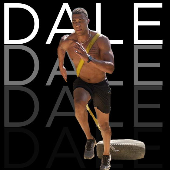 DALE MOSS | Trainer   So much more than just a former NFL player, Dale brings soul, wisdom and a lot of heart to each trip he leads. Oh and you're going to get your ass kicked every morning also…