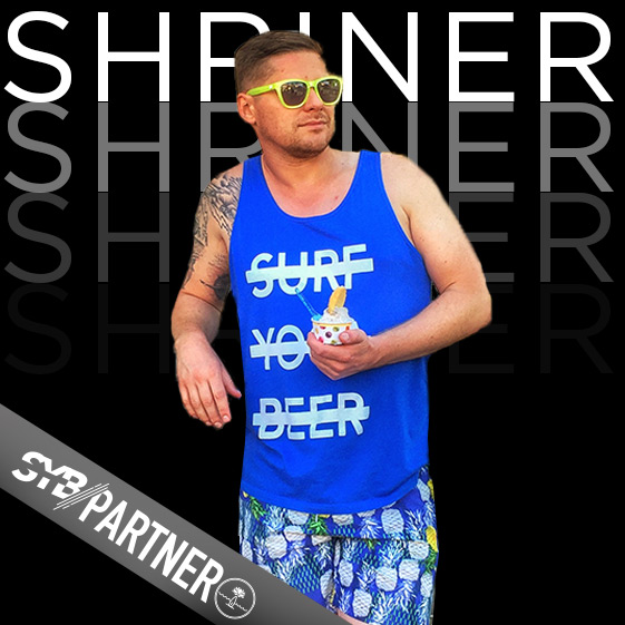 MIKE SHRINER | Badass Leader   As long as he's there all you need to know is you're in good hands. He'll be driving golf carts to secret beaches, taking care of all logistics and making sure you've got everything you need!
