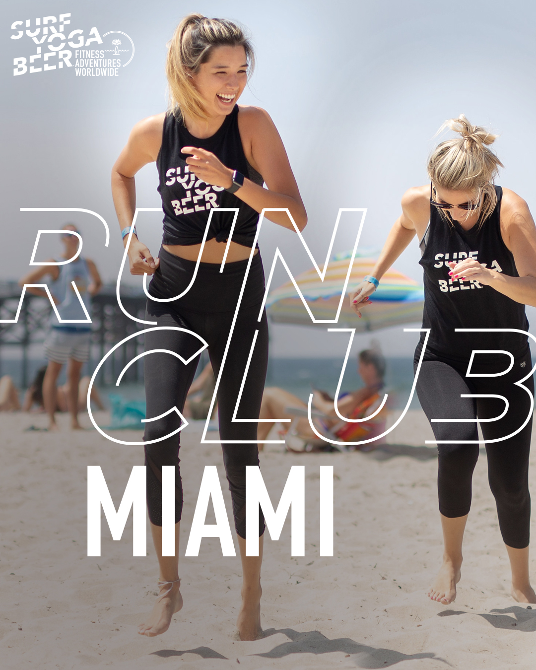 MORE INFO ON MIAMI RUN CLUB     Free     FIRST THURSDAY OF EVERY MONTH 6:30PM -    Lululemon Coral Gables