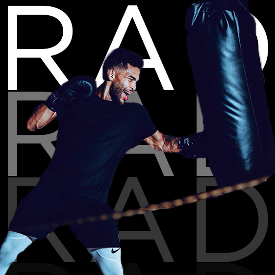 JAB JAB CROSS   From the hustle of NYC, Rad has been boxing long enough to give you a full understanding of this world. Expect to get your footwork, positions, and combos to improve dramatically! If you're in NYC you'd try his class at  Shadowbox  to get a taste of what's Rad!   RAD'S INSTAGRAM