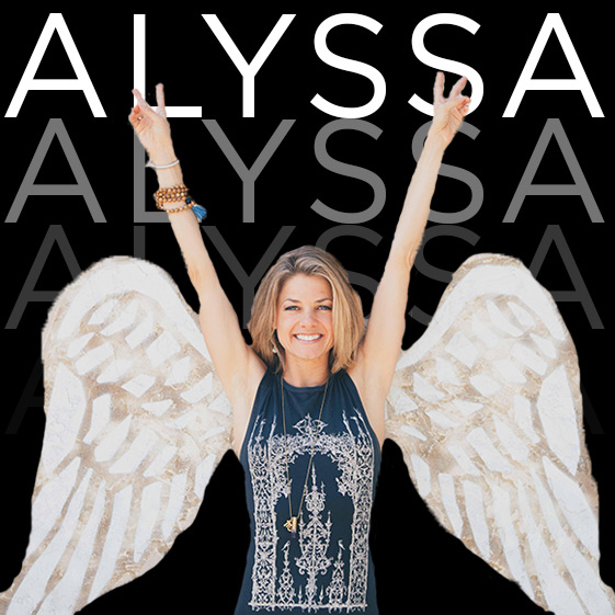 Yoga Angel   So much more than just a yoga teacher from San Diego, she's certified IIN Health Coach and a badass person who specializes in lifting others up!   ALYSSA'S INSTAGRAM