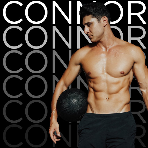ANGELO GRINCERI | Trainer   WEEK 3  Coming in hot from  The Bachelorette,  our leader Connor is more than just eye candy. With extensive knowledge of the human body, you can expect some sexy workouts and fun nights!