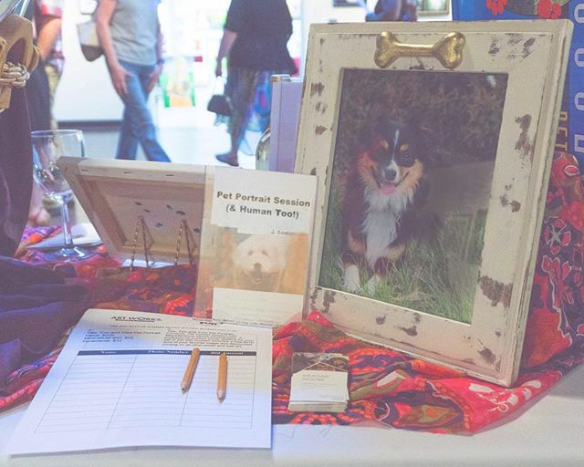 #fbf to the silent auction at the Dog Days of Summer show at @artworksrva in August. I was so honored to participate, and so happy to help support the amazing work that FURS has done and will continue to do for Richmond's canines! 🐶❤️