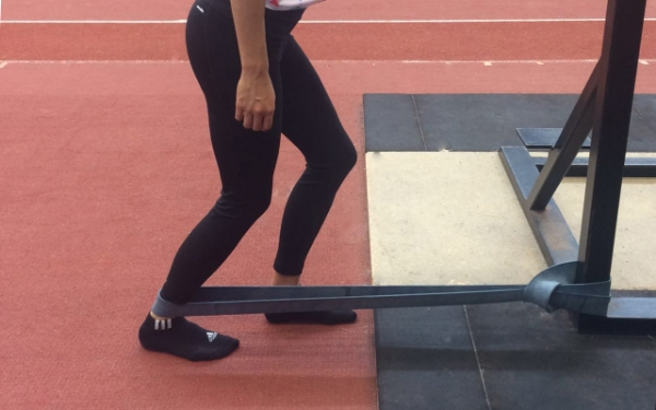 Foot/Ankle Self-Mobilisation Using Heavy Band
