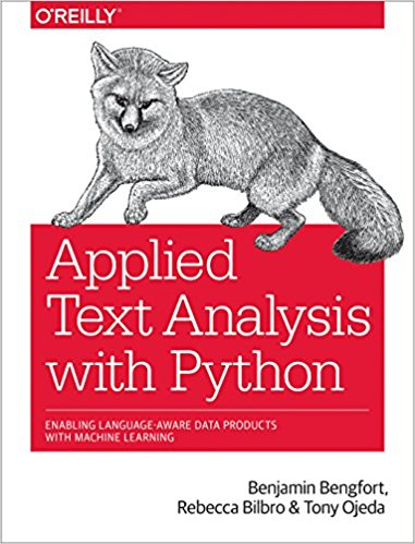 Applied Text Analytics with Python