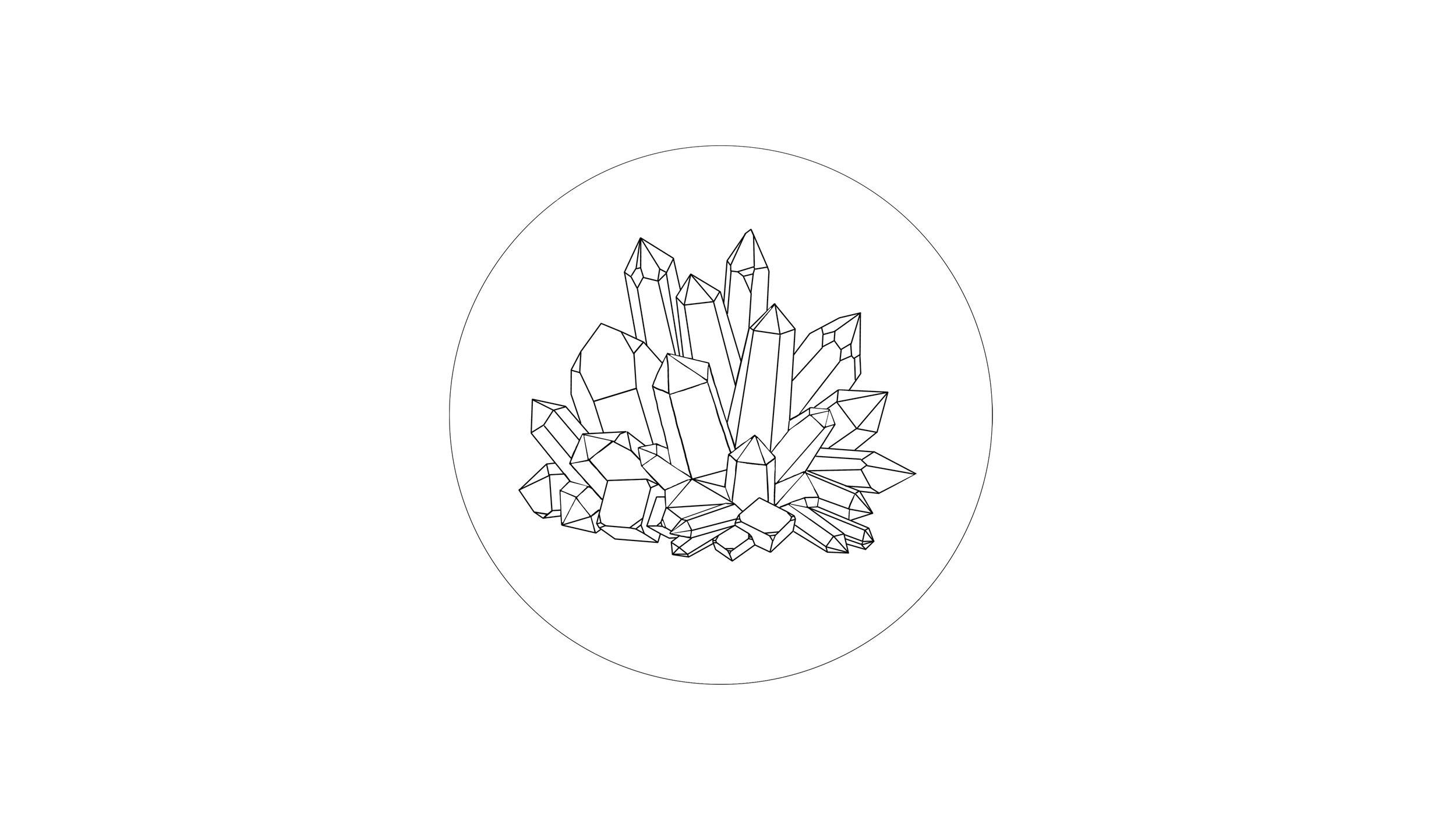 rock ( quartz crystal )