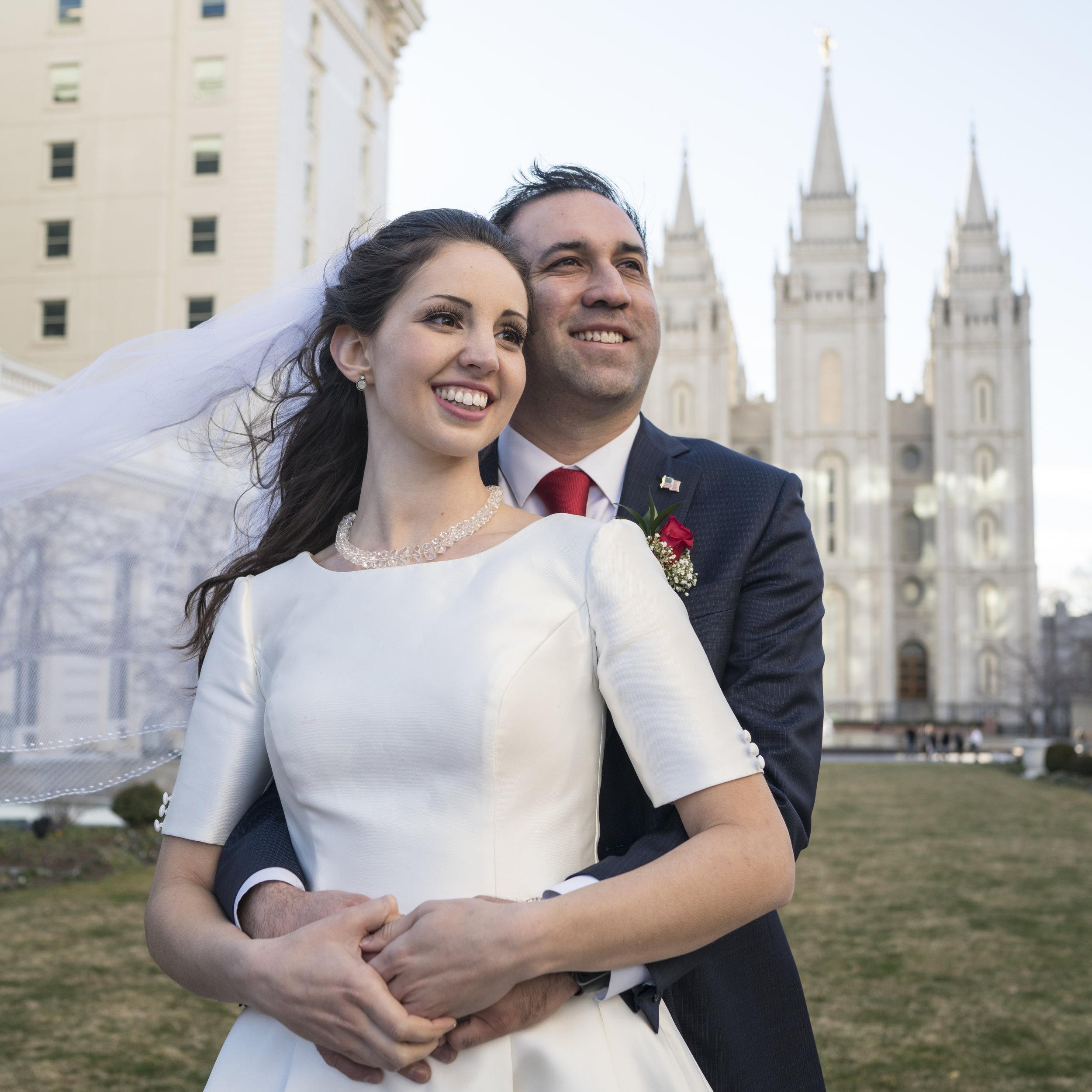 Brian and Sariah -
