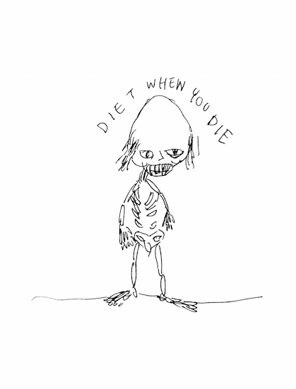 diet when you die