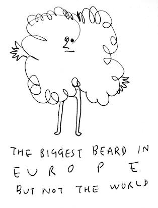 biggest beard