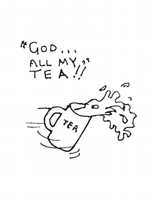 God all my tea