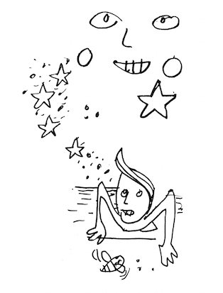 the frog and the star dust