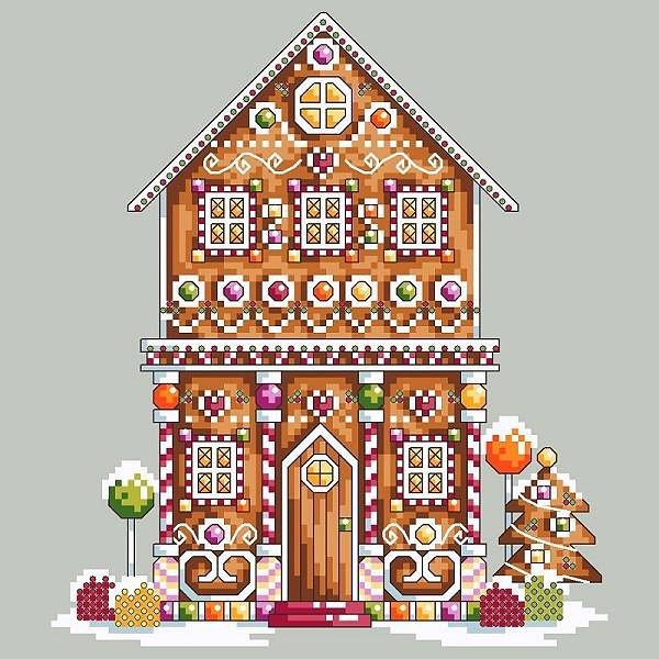 The annual tradition of a gingerbread related design continues on this year! Candy Lane is available on my website (link in bio). . . . #crossstitch #xstitch #crossstitching #crossstitchpattern #crossstitchdesign #crossstitchchart #christmascrossstitch #pointdecroix #kanavice #gingerbread #craftingpattern #craftingdesign #shannonwasilieff #shannonchristinedesigns #stitchersofinstagram #xstitchersofinstagram #holidaystitching