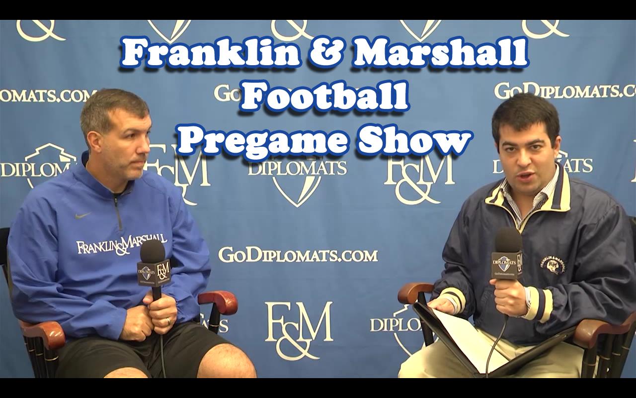 Bryan H Stabbe Franklin Marshall Football Pregame Show