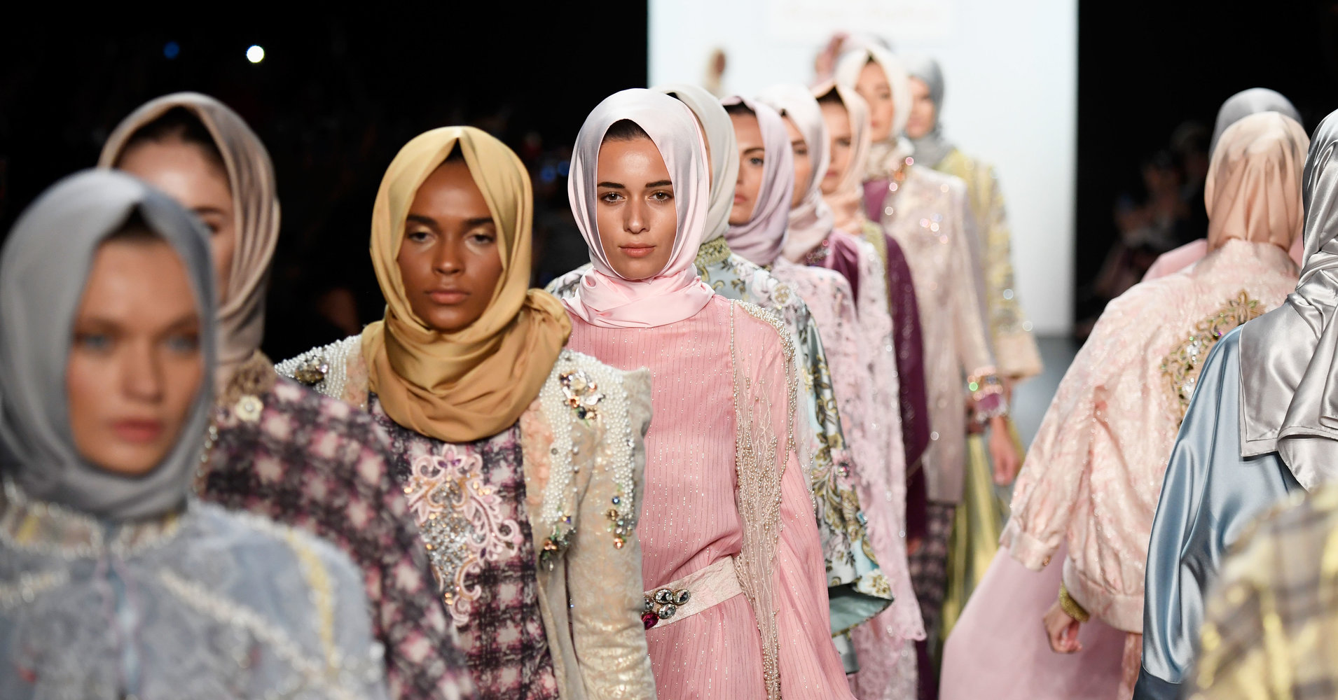 Last years first-ever hijab fashion show during NYFW.