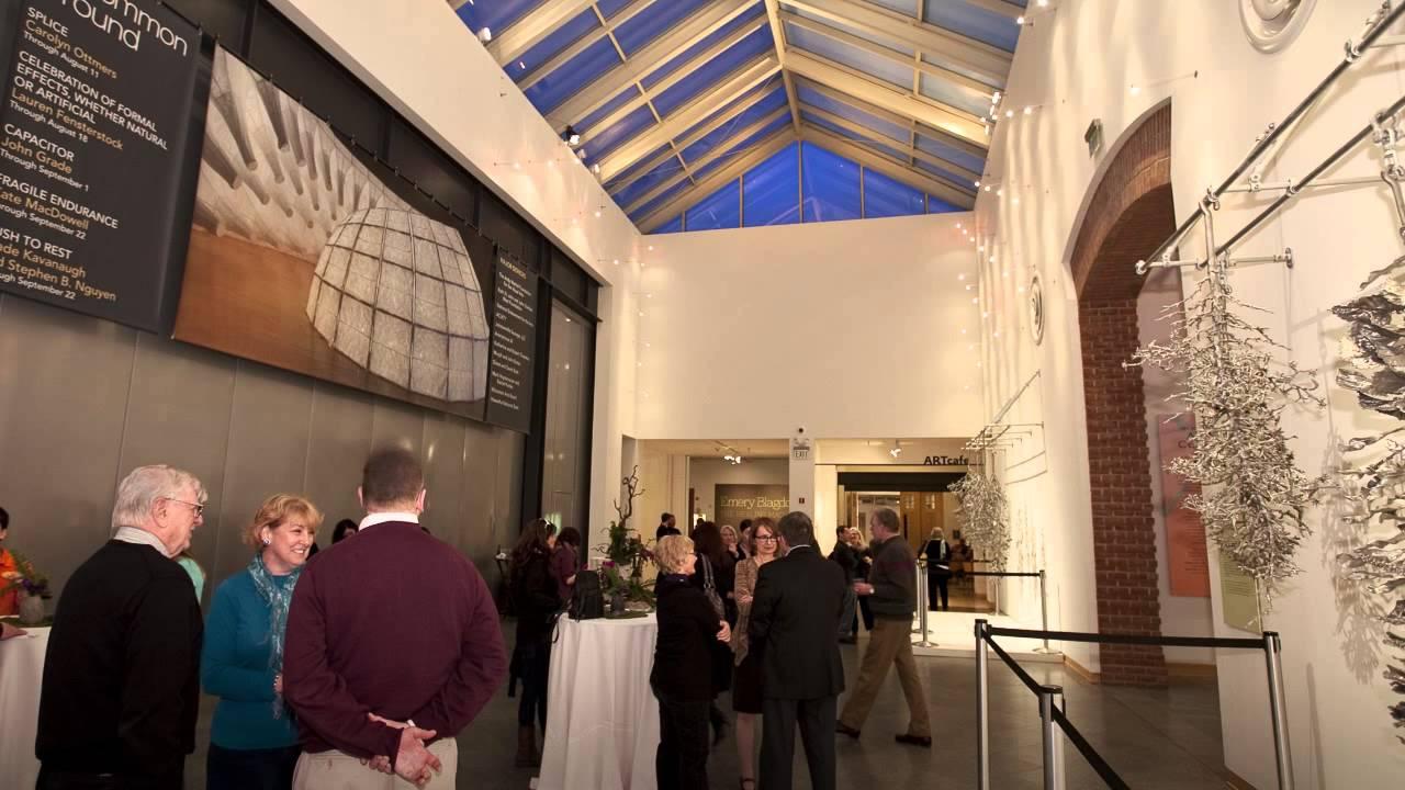 Inside the John Michael Kohler Arts Center in Wisconsin.