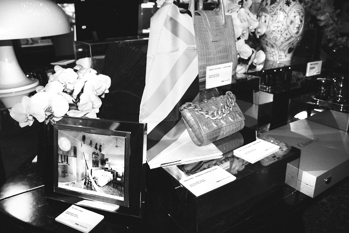 There was also a silent auction with pieces from some of the most renowned brands.