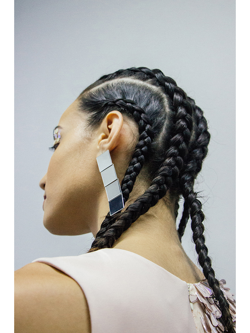 Beauty was handled by  Fuzion Salon .  Accesories from  Hombre Jewelry .