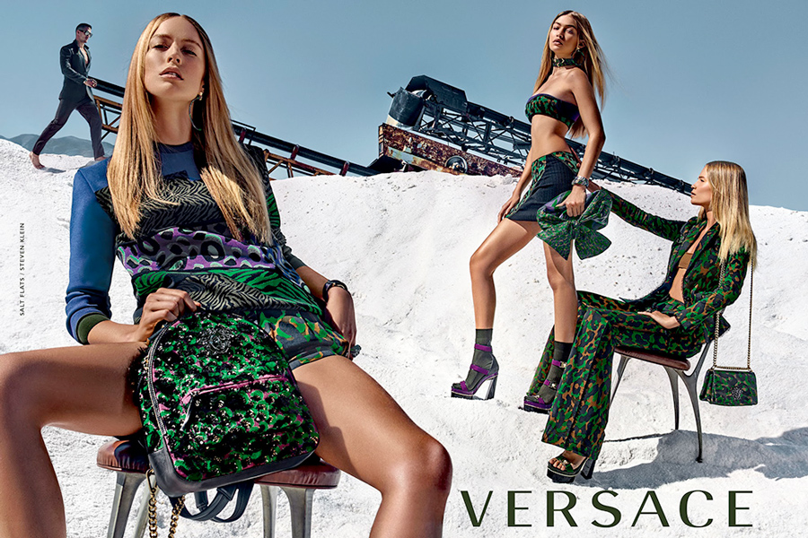 Versace's Spring/Summer 2016 ad campaign also photographed by Meisel.