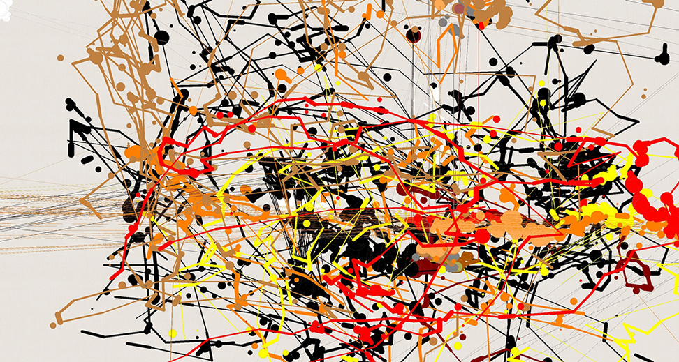 painting by Jackson Pollock.
