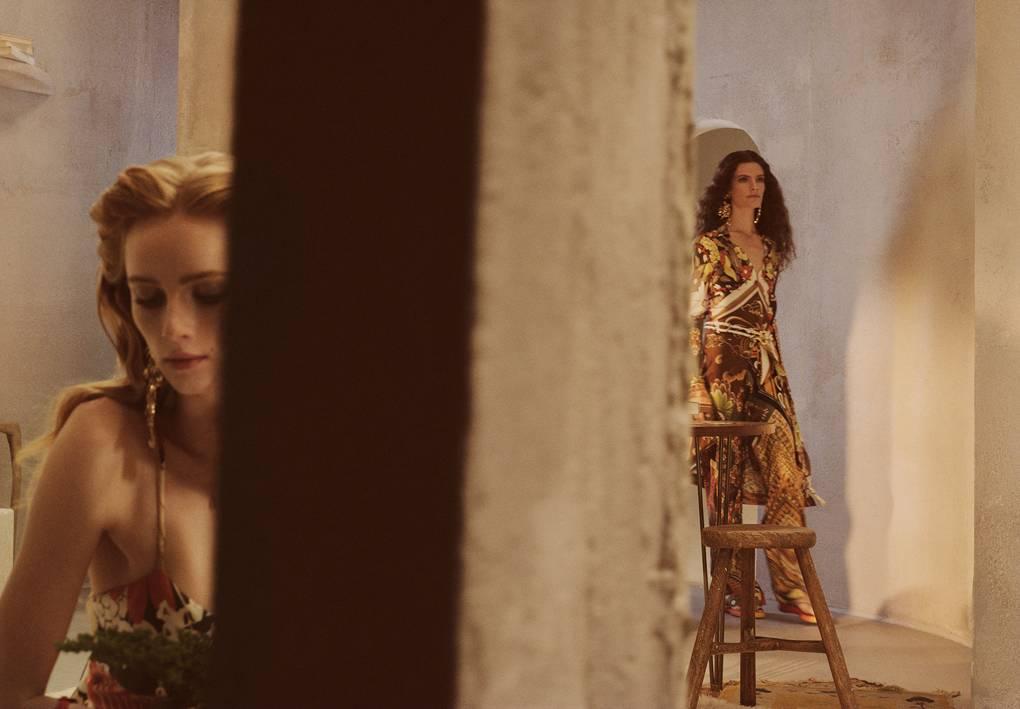 Chloé Spring 2019 campaign, lensed by Steven Meisel.