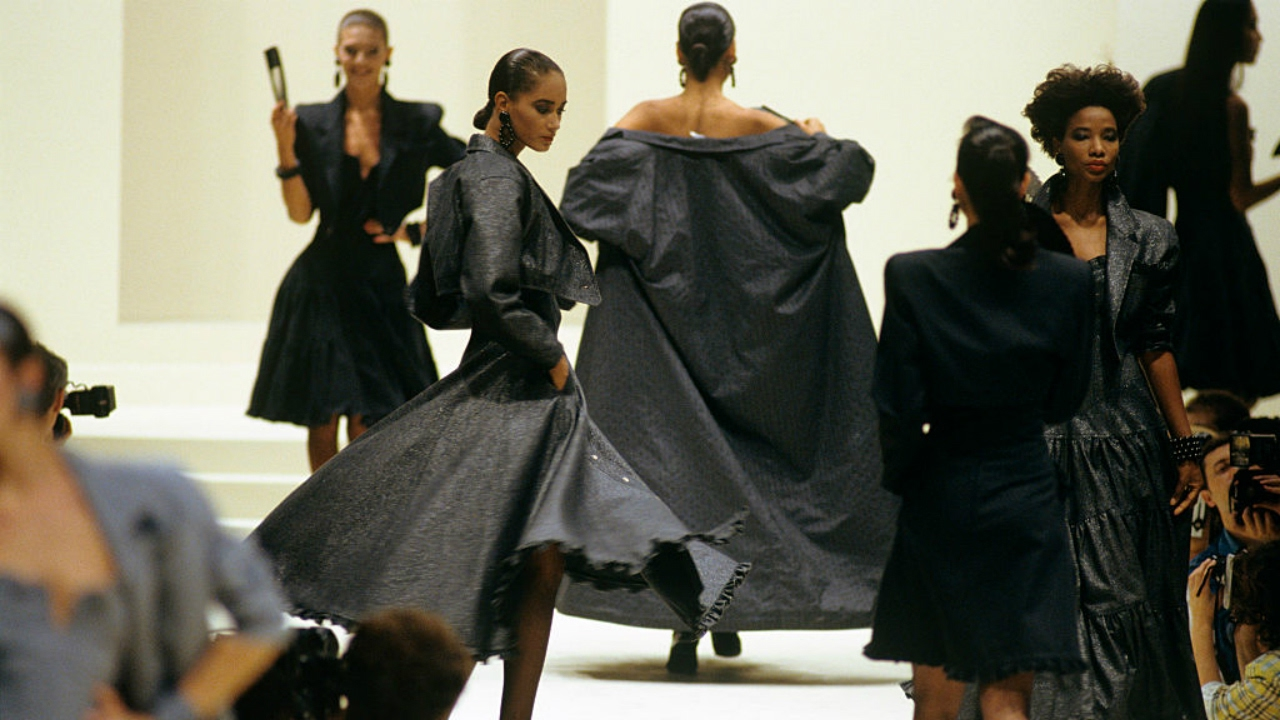 One of Largefeld's first collections for Fendi.