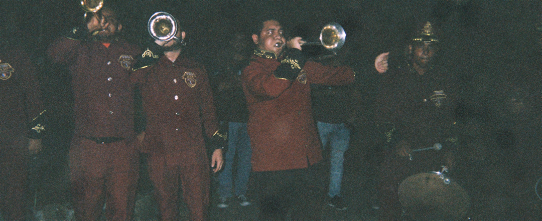 We were also greeted by a very Panamanian marching band.