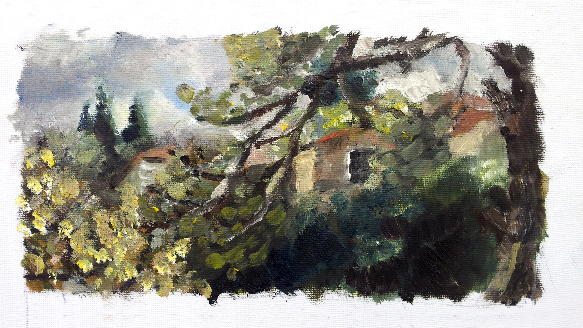 Bakaa, Jerusalem. Oil on canvas. 2014