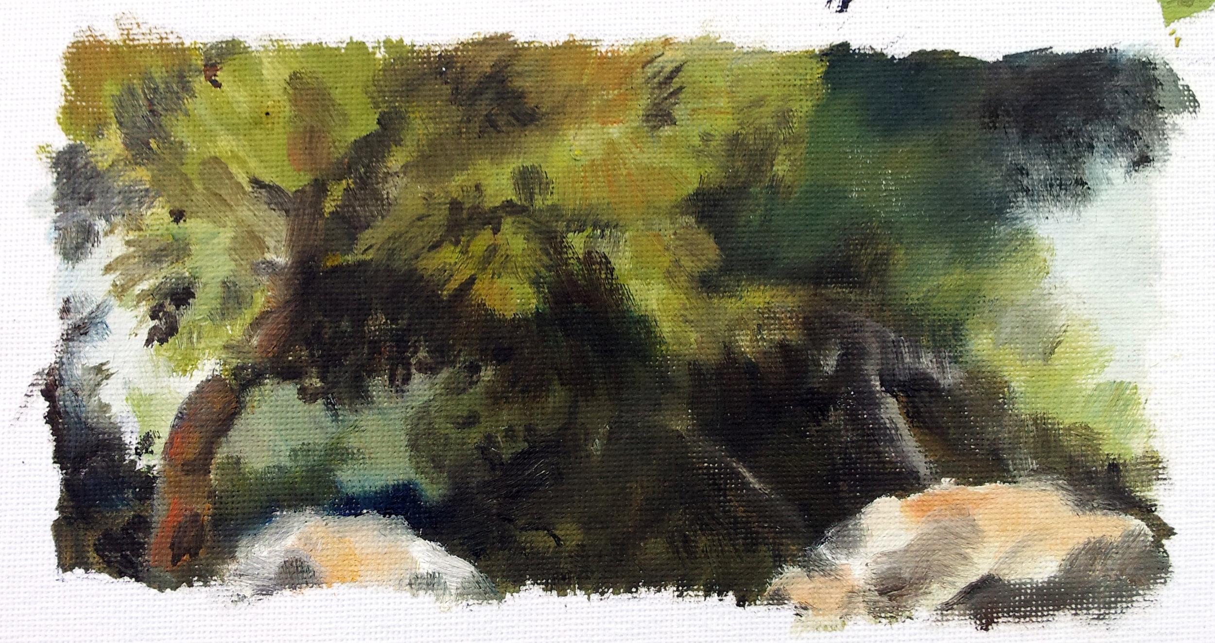 Mount Scopus, Jerusalem. Oil on Canvas. 2014