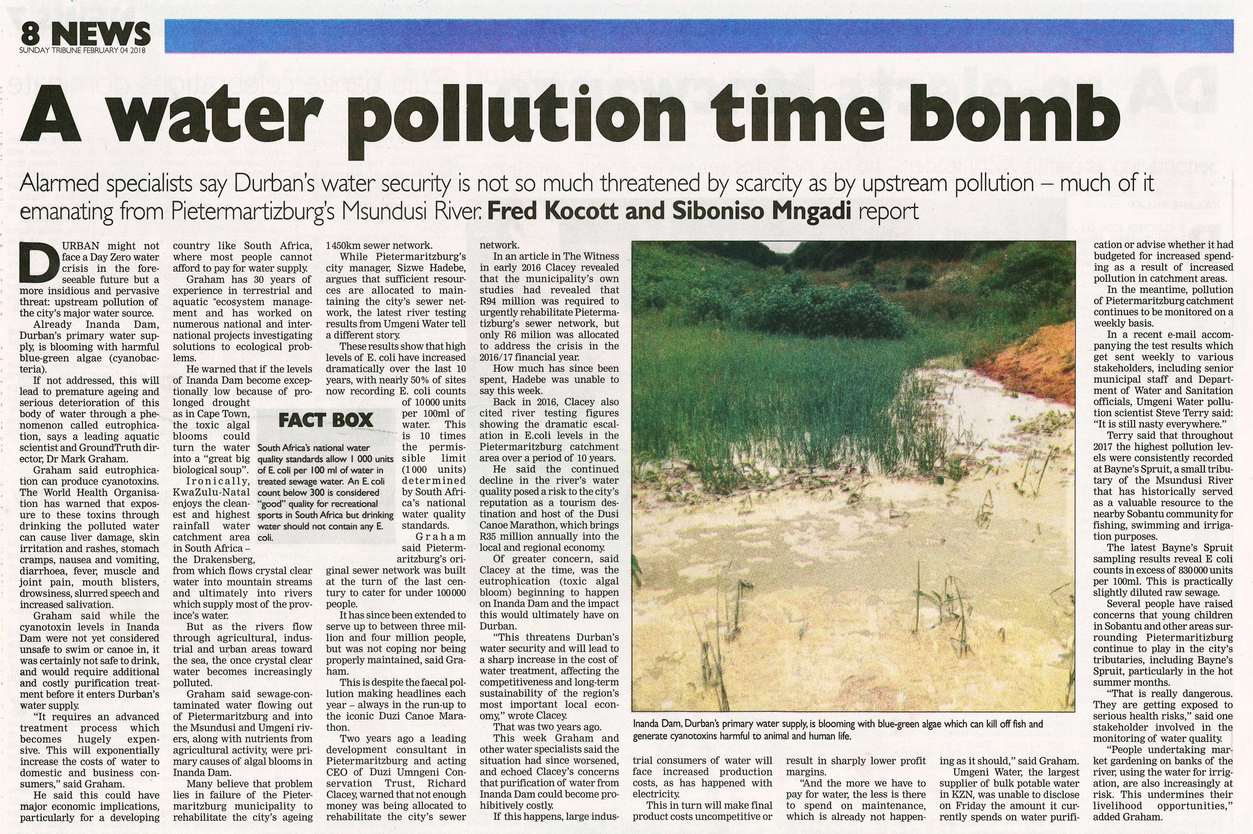 20180204 Tribune Water Pollution.jpg