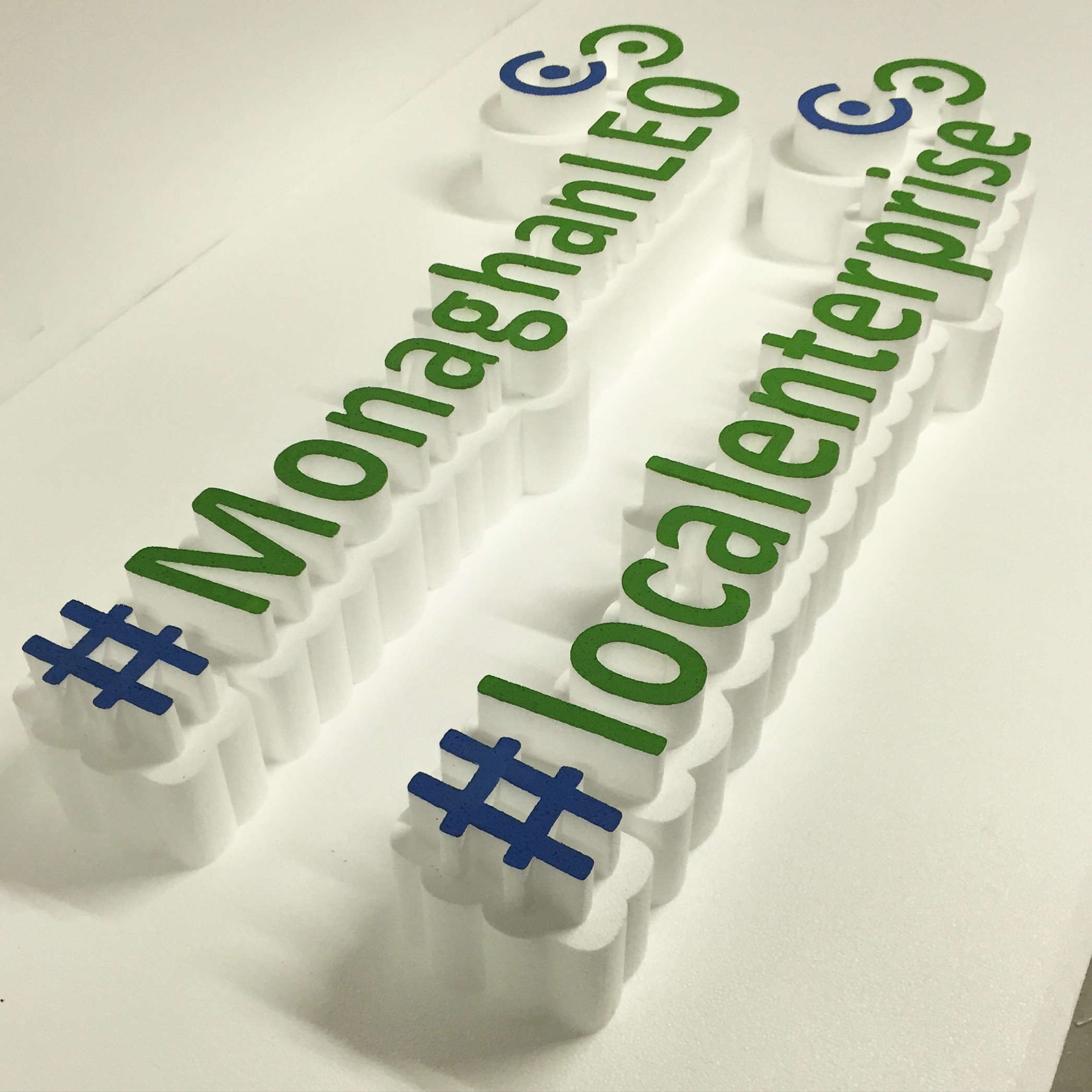 #Hashtag 3D Lettering