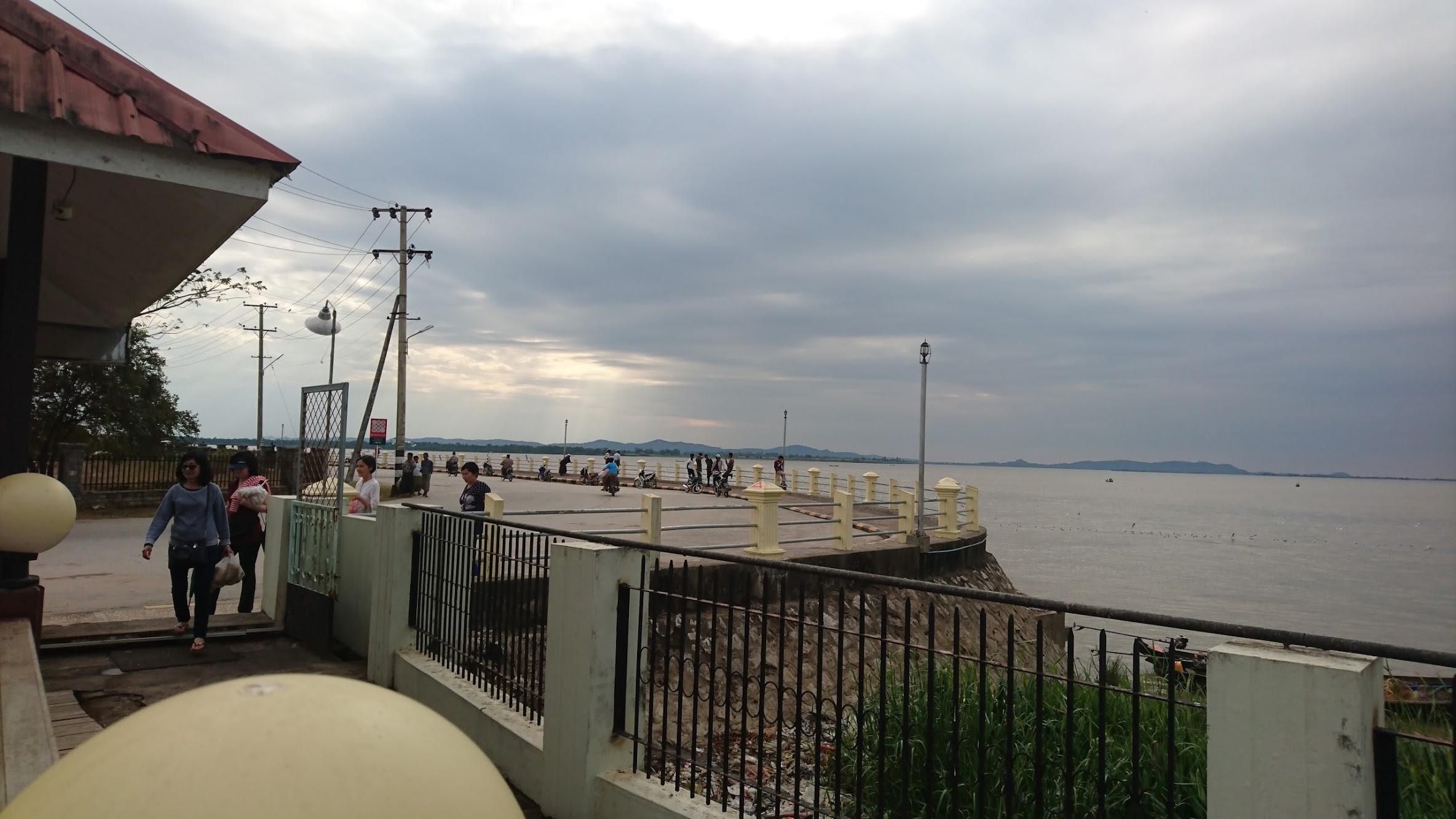 Thanlyin River, we meet again.