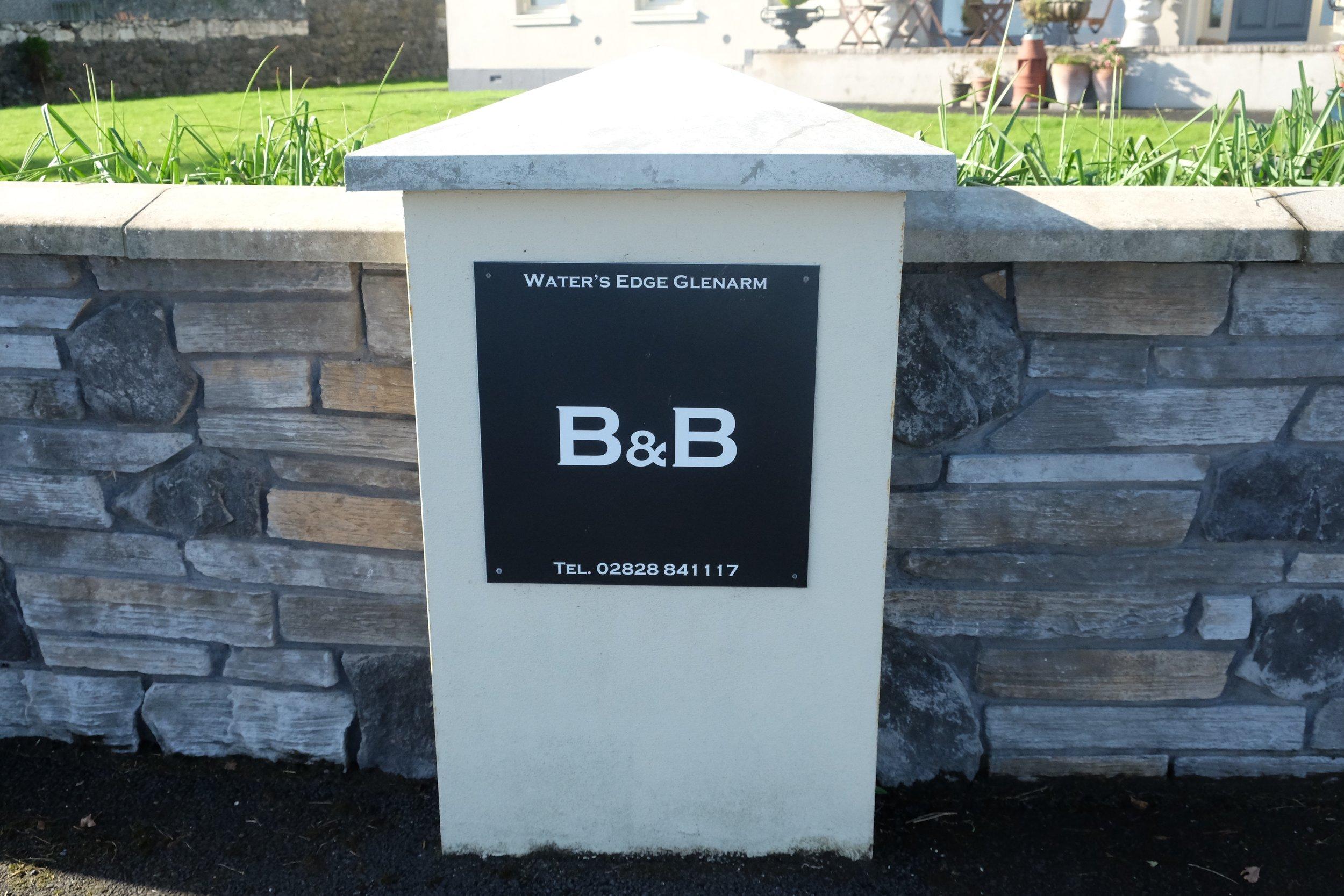Water's Edge B&B, A2, Ballymena BT44, United Kingdom, +44 28 2884 1117.